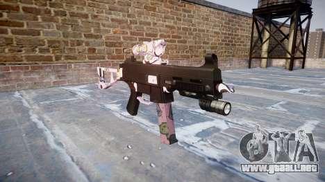 Pistola de UMP45 Kawaii para GTA 4