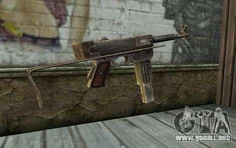 MAT-49 from Battlefield: Vietnam para GTA San Andreas segunda pantalla