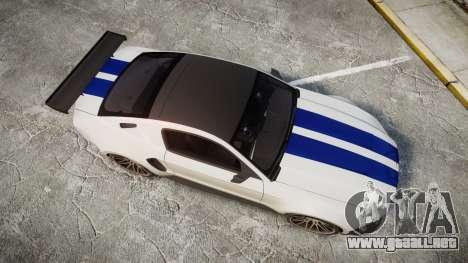 Ford Mustang GT 2014 Custom Kit PJ2 para GTA 4 visión correcta