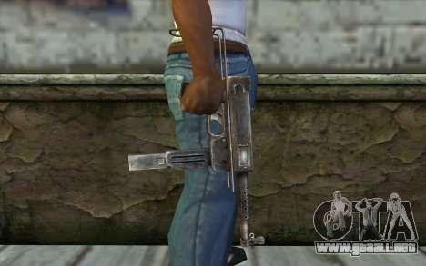MAT-49 from Battlefield: Vietnam para GTA San Andreas tercera pantalla