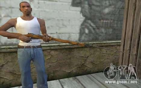 Mosin-v9 para GTA San Andreas tercera pantalla
