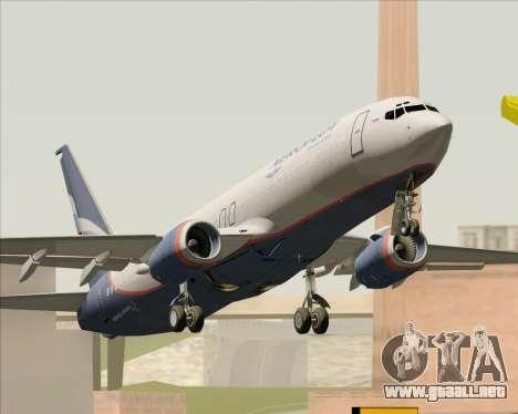 Boeing 737-8LJ Aeroflot - Russian Airlines para la visión correcta GTA San Andreas