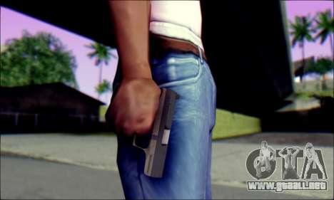 Walther P99 Bump Mapping v1 para GTA San Andreas tercera pantalla