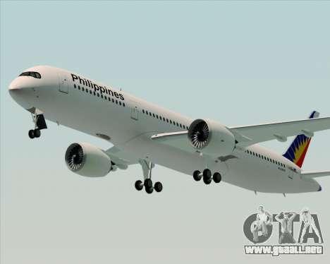 Airbus A350-900 Philippine Airlines para la visión correcta GTA San Andreas