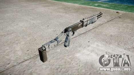 Ружье Franchi SPAS-12 Cráneos para GTA 4 segundos de pantalla