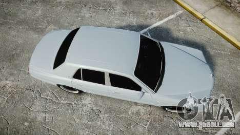 Bentley Arnage T 2005 Rims1 Chrome para GTA 4 visión correcta