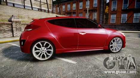 Hyundai Veloster Turbo 2012 para GTA 4 left