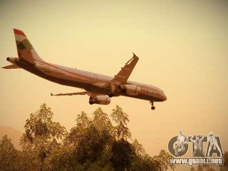 Airbus A321-232 Middle East Airlines para el motor de GTA San Andreas