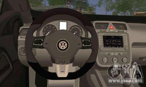 Volkswagen Scirocco 2011 para GTA San Andreas vista posterior izquierda