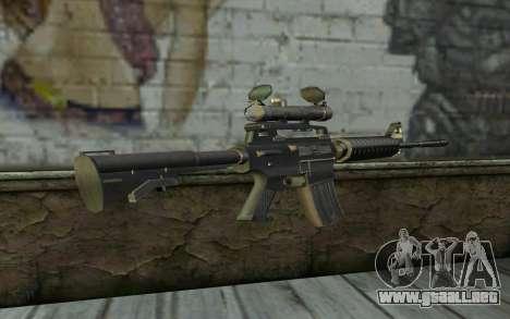 M4 from Hitman 2 para GTA San Andreas segunda pantalla