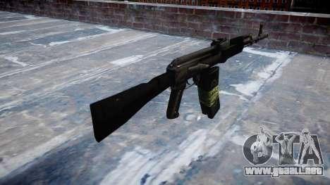 Kalashnikov 101 para GTA 4 segundos de pantalla
