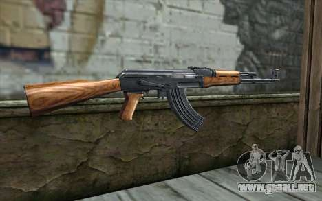 AK47 from Killing Floor v1 para GTA San Andreas segunda pantalla