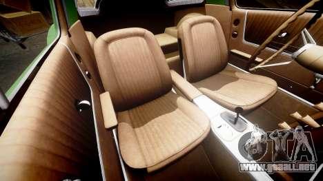 Chevrolet Corvette Stingray 1963 v2.0 para GTA 4 vista lateral