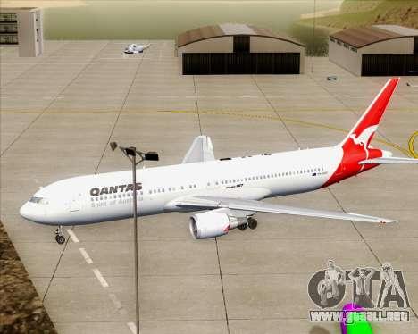 Boeing 767-300ER Qantas (Old Colors) para el motor de GTA San Andreas