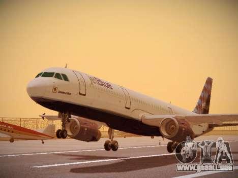 Airbus A321-232 jetBlue Airways para GTA San Andreas left