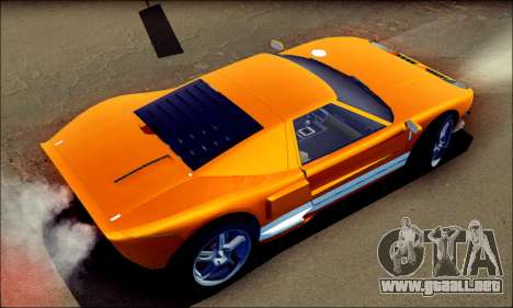 Vapid Bullet GTA 5 para GTA San Andreas vista posterior izquierda