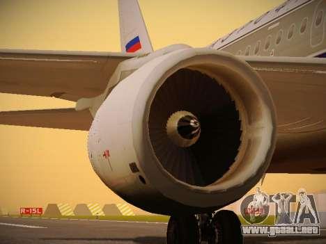 Airbus A320-214 Aeroflot Retrojet para el motor de GTA San Andreas