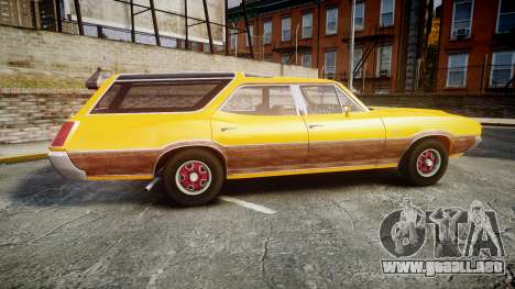 Oldsmobile Vista Cruiser 1972 Rims2 Tree3 para GTA 4 left