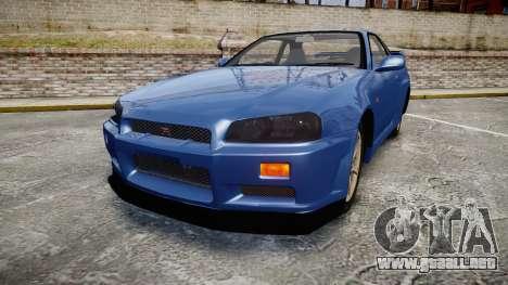 Nissan Skyline R-34 V-spec para GTA 4