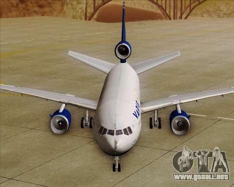 McDonnell Douglas DC-10-30 VARIG para vista inferior GTA San Andreas
