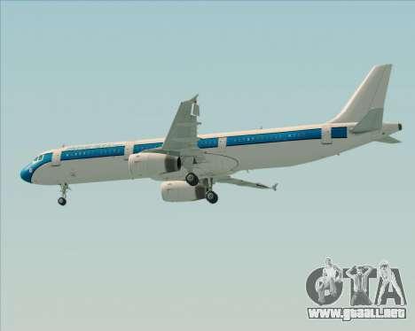 Airbus A321-200 American Pacific Airways para el motor de GTA San Andreas