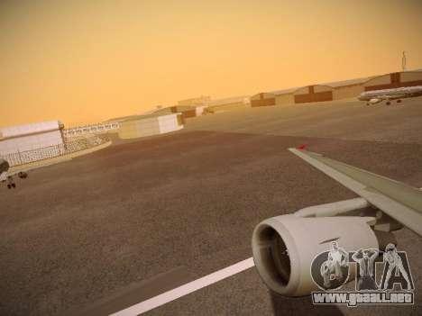 Airbus A320-214 Aeroflot Retrojet para las ruedas de GTA San Andreas