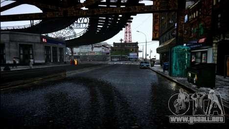 FaveENB para GTA 4 segundos de pantalla