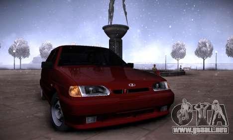 Gráfico mod por medio de la PC 2.0 para GTA San Andreas segunda pantalla