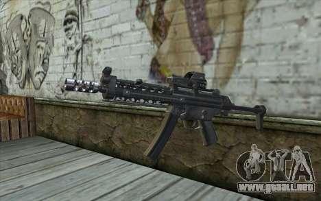 Silver MP5 para GTA San Andreas