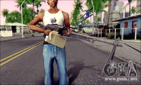 Panel de Control Pecheneg (ArmA 2) para GTA San Andreas tercera pantalla