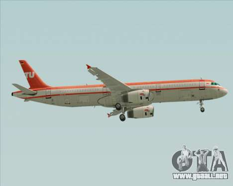 Airbus A321-200 LTU International para las ruedas de GTA San Andreas
