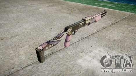 Ружье Franchi SPAS-12 Kawaii para GTA 4 segundos de pantalla