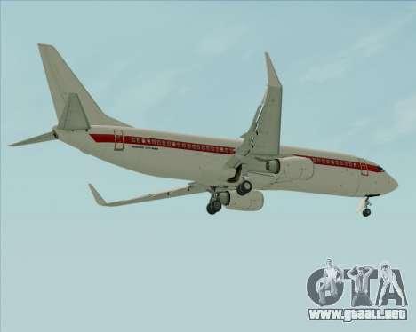 Boeing 737-800 EG&G - Janet para las ruedas de GTA San Andreas