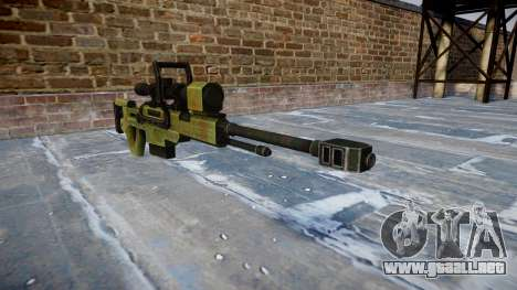 De gran calibre, rifle de francotirador para GTA 4