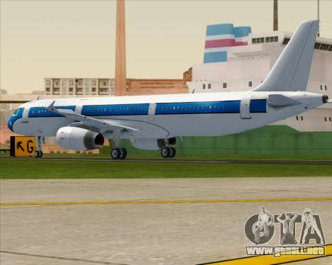 Airbus A321-200 American Pacific Airways para la visión correcta GTA San Andreas