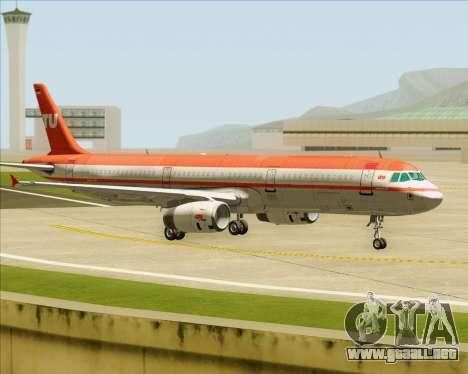 Airbus A321-200 LTU International para el motor de GTA San Andreas