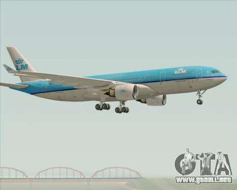 Airbus A330-200 KLM - Royal Dutch Airlines para la visión correcta GTA San Andreas