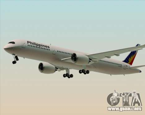 Airbus A350-900 Philippine Airlines para GTA San Andreas left