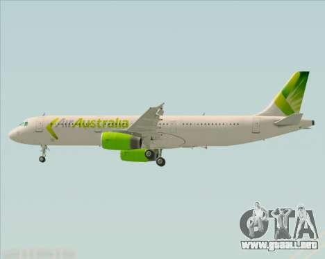 Airbus A321-200 Air Australia para el motor de GTA San Andreas