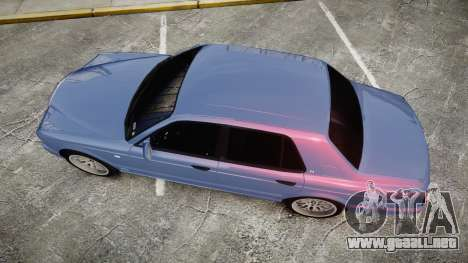 Bentley Arnage T 2005 Rims2 Black para GTA 4 visión correcta
