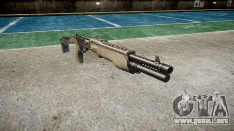 Ружье Franchi SPAS-12 a-TACS AU para GTA 4