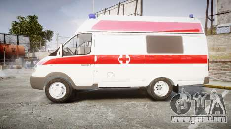 GAS-32214 Ambulancia para GTA 4 left
