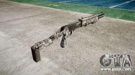 Ружье Franchi SPAS-12 Diamantes para GTA 4 segundos de pantalla