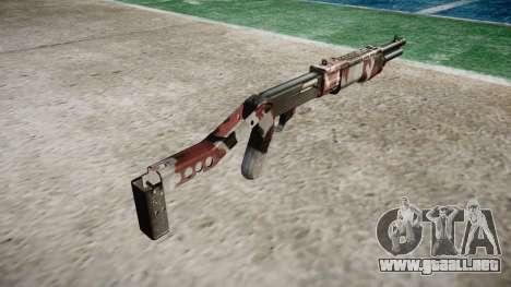 Ружье Franchi SPAS-12 Inyectados de sangre. para GTA 4 segundos de pantalla