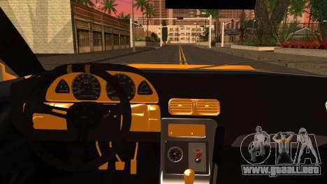 Elegy Team DriftMonkey para GTA San Andreas vista posterior izquierda