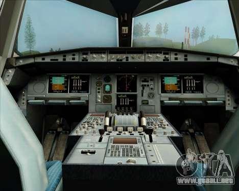 Airbus A380-800 Skymark Airlines para GTA San Andreas interior