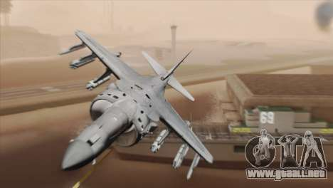 EMB AV-8 Harrier II USA NAVY para GTA San Andreas