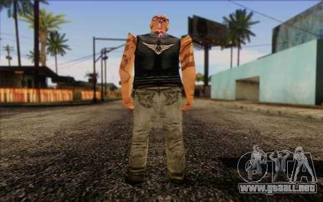 Biker from GTA Vice City Skin 1 para GTA San Andreas segunda pantalla