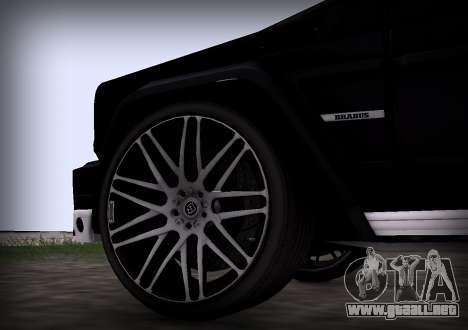 Brabus 800 para la visión correcta GTA San Andreas