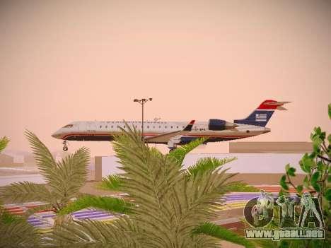 Bombardier CRJ-700 US Airways Express para visión interna GTA San Andreas